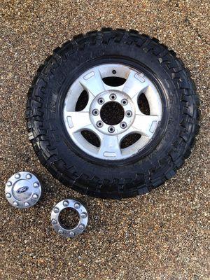 Original Ford F-250 Super Duty 4x4 Tires with Rims for Sale in Boca Raton, FL