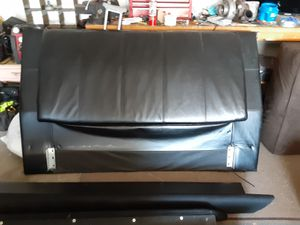 Leather bed frame for Sale in Fort Collins, CO