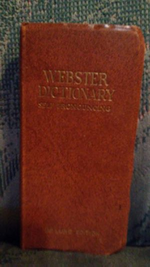 Webster's Pronounced Dictionary for Sale in Glendale, AZ