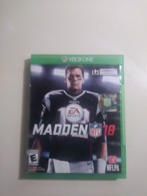 Madden 18 for Sale in Washington, DC