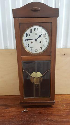 Antique Hamburg Pendulum Wall Clock for Sale in Woodstock, GA