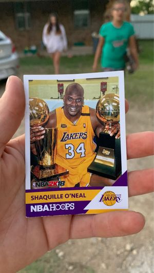 Shaquille O'Neal card for Sale in Clyde, TX