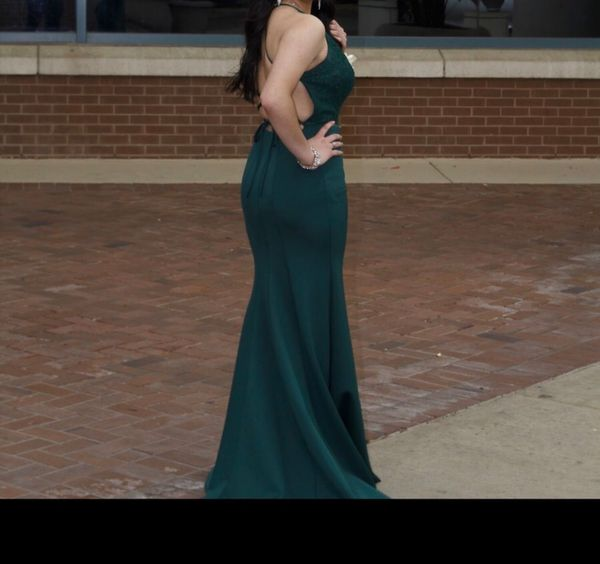 Emerald Green Prom Dress! Wore Once!