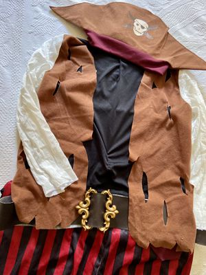 Kids Halloween Costume Pirate size M for Sale in Warrington, PA