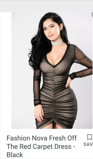 Fresh off The Red Carpet Black Dress Mesh for Sale in Concord, CA