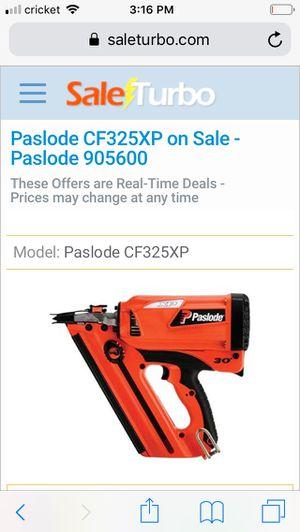 Paslode nail gun cordless for Sale in Buffalo, NY