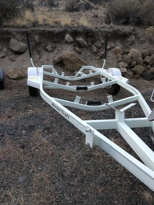 White 20' Master Craft Boat trailer for Sale in Bend, OR