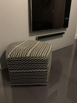Missoni designer ottoman / chair for Sale in Miami, FL
