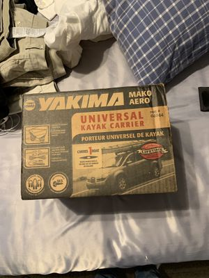 Yakima kayak mount I've never used it before. $50 if price it is negotiable though for Sale in Coralville, IA