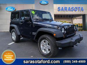 2013 Jeep Wrangler for Sale in Sarasota, FL
