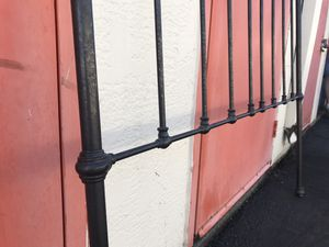 Just reduced! Wrought Iron Double Bed Headboard for Sale in Tacoma, WA