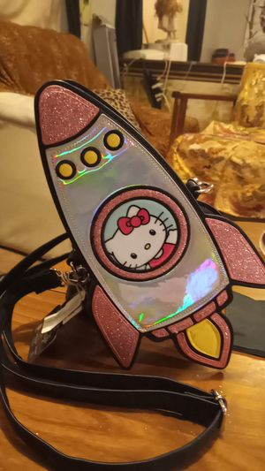 Hello Kitty Spaceship Crossbody Purse for Sale in Las Vegas, NV
