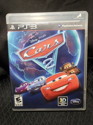 Ps3 Cars 2 excellent condition rated E for Sale in Zanesville, OH