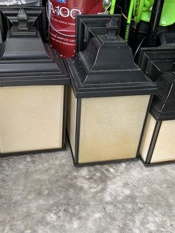 Outdoor Wall Lantern Sconces Set Of 3 for Sale in Vancouver,  WA