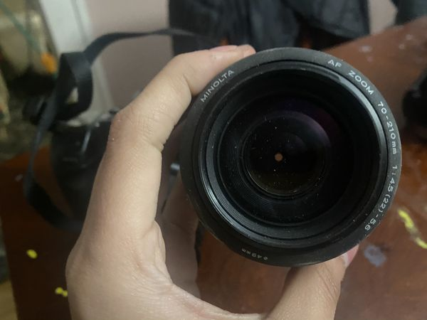Minolta Maxxum Camera