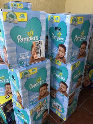 Pampers wipes 10 packs 720 wipes total for Sale in Hialeah, FL