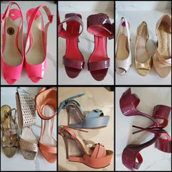 11 Pairs Of Women's Shoes/Heels Size 7.5/8.0 - Read Description For Location! for Sale in Houston,  TX