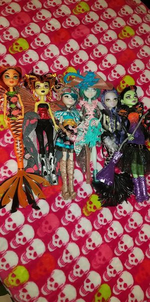 Monster high dolls Collectible for Sale in Houston, TX