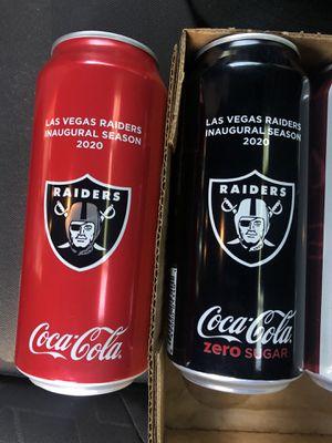 Raider Soda Cans for Sale in San Diego, CA
