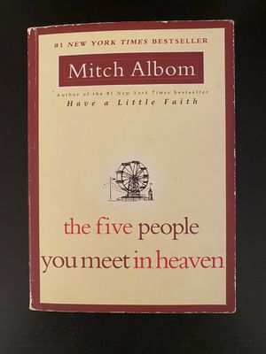 The five people you meet in heaven book for Sale in Hines, IL