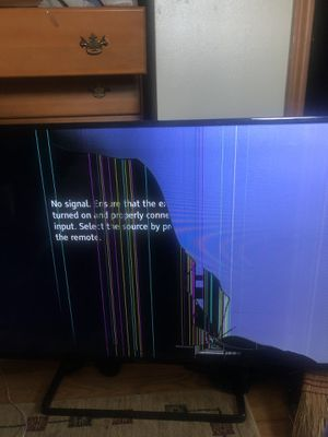 Panasonic TV 50 inch SCREEN BROKEN for Sale in North Olmsted, OH