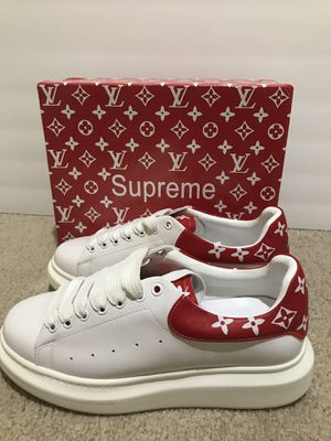 LV Supreme Sneakers for Sale in Burlington, NJ