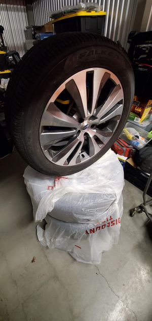2019 Subaru Ascent wheels and tires set of 4 for Sale in Seattle, WA