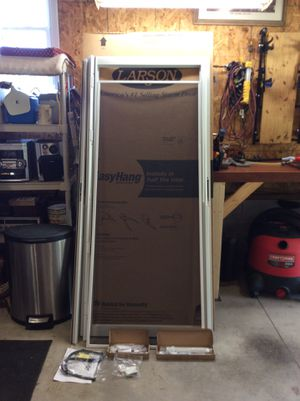 "New Larson storm door. 36""x80""-81"". I cannot ship this item. for Sale in Canvas, WV"