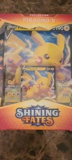 Shining Fates Pikachu V for Sale in Aurora,  CO