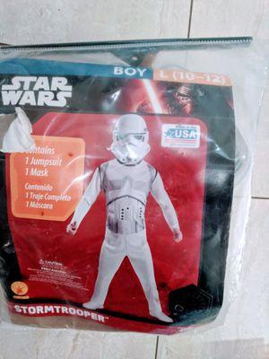 STAR WARS Halloween costume size Boy L 10-12 for Sale in El Mirage, AZ