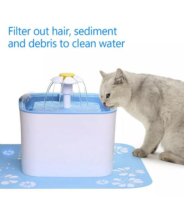 Pet fountain replacement filter