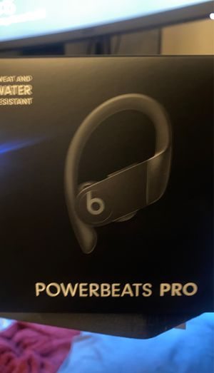 Powerbeats Pro Black for Sale in Shreveport, LA