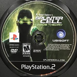 Tom Clancy's Splinter Cell: Chaos Theory PS2 Game for Sale in Banning, CA
