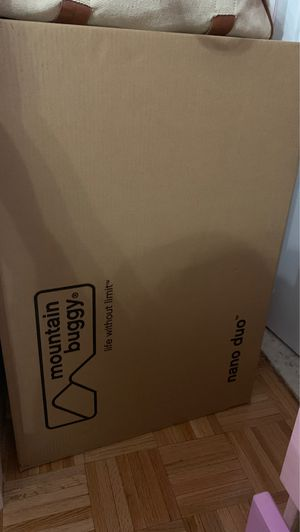 Mountain buggy nano duo in black brand new in box for Sale in New York, NY