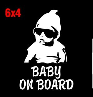 Baby on Board Vinyl Sticker Decal for Sale in Gulfport, FL