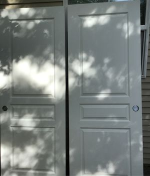 Sliding doors and track wheels for Sale in Gresham, OR