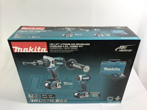 Makita hammer / impact drill kit XT268M for Sale in Sanford, FL
