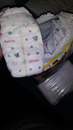 Size one snug and dry diapers for Sale in Philadelphia, PA