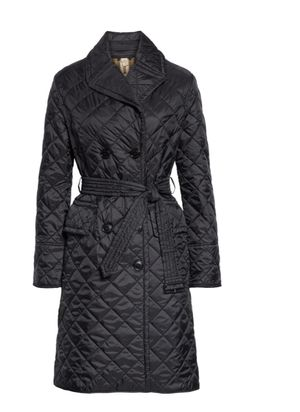 Authentic Burberry long quilted jacket for Sale in Roselle, IL
