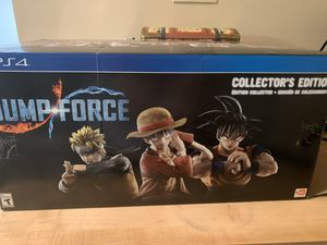 Jump force CE PS4 for Sale in Fairfax, VA