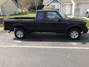 2001 ford ranger super cab 4.0 v.6 a/t runs exellent. Clean title for Sale in Puyallup, WA