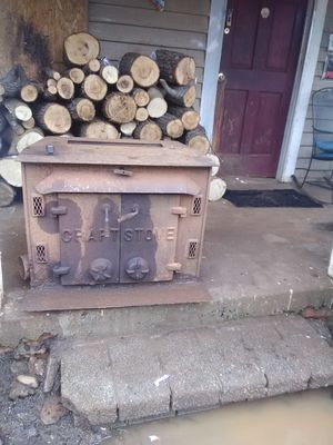 Craftstone wood stove in great condition... 125.00 obo for Sale in Startex, SC