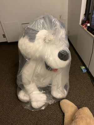 Giant dog stuffed animal (new) for Sale in Minneapolis, MN
