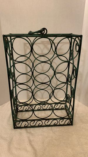 Antique wine bottle holder for Sale in Whittier, CA