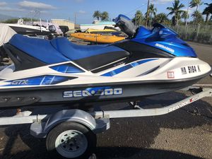 2007 Seadoo GTX 4TEC ROTAX **169 hours** for Sale in Joint Base Pearl Harbor-Hickam, HI