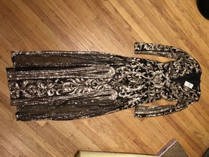 Rose gold sequin prom dress for Sale in San Francisco, CA