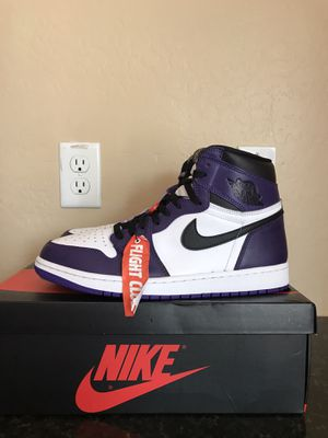 Jordan Retro 1 Court Purple 2.0 Size 10.5 for Sale in Tempe, AZ