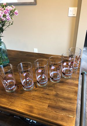 91'-92' Portland Trail Blazers Collectable DQ Glass Set for Sale in Portland, OR
