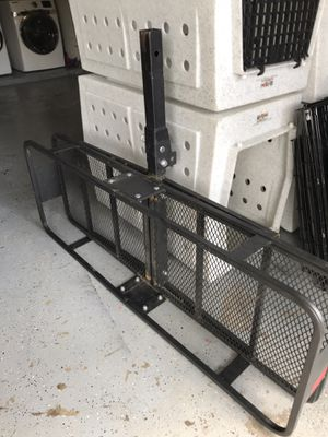 Husky Cargo Basket and Hitch for Sale in Houston, TX