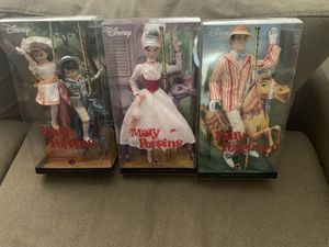 Disney's pink labled Barbie Collection of Mary Poppins. for Sale in Mesquite, TX